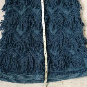 Anthropologie Sweaters - Anthropologie Yellow Bird Fringe Sweater